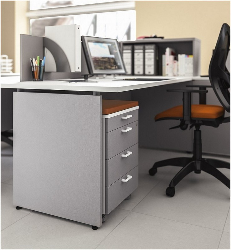 Arredo ufficio outlet elegant scrivania operativa in for Outlet ufficio